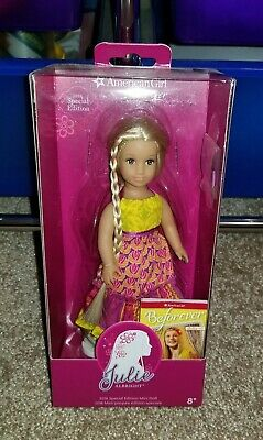 American Girl Julie Albright 2016 Special Edition Mini Doll New NRFB