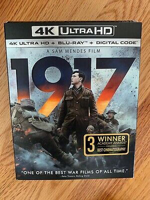 1917 DVD 4K Ultra HD Blu Ray Digital Code New!