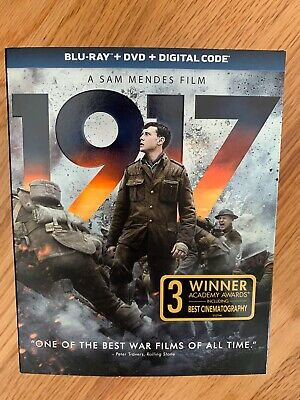 1917 DVD Blu Ray Digital Code New