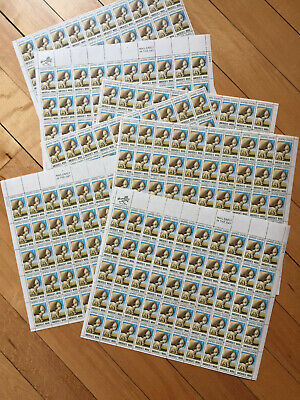 SHEEP 350 $.06 American Wool Industry Stamps 7 Full Sheets $21 Face Scott 1423