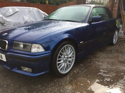 BMW E36 323i M-Sport Convertible with Hard Top 99k miles