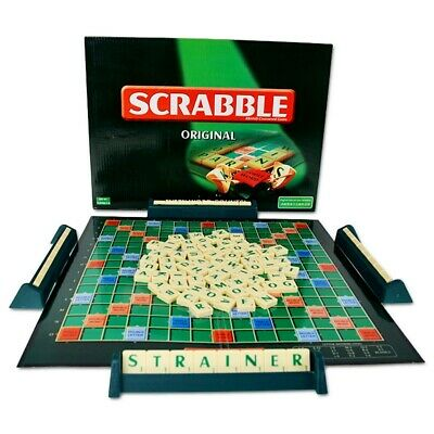 Original Scrabble Board Game Family Kids Parents Educational Toy Puzzle Game Hot
