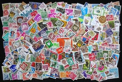World - Approximately 250 Used Stamps - All Different