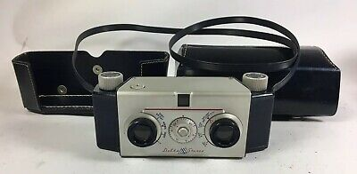 Delta-Stereo Camera with blue finish in case unknown condition AS IS
