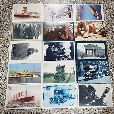 15 THE NOSTALGIA POSTCARD COLLECTION  YESTERDAYS BRITAIN 1890'S- 1950'S  lot#1a