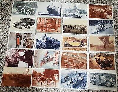 20 THE NOSTALGIA POSTCARD COLLECTION  YESTERDAYS BRITAIN 1890'S- 1950'S  lot#2a