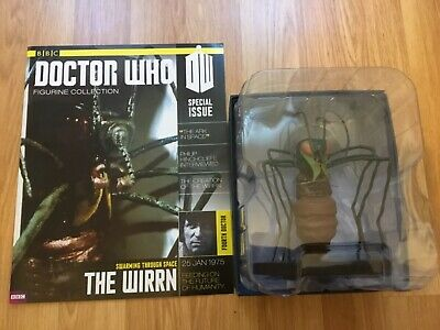 Doctor Who Eaglemoss - Special Issue - The Wirrn - Boxed Figure & Magazine