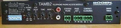 Bogen Communications TAMB2 Telephone Access Module - Paging - USA