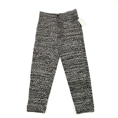 Free People Cozy Knit Trouser Pant Size XS Deep Red Combo Cropped High Rise
