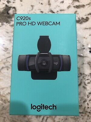 Logitech C920s HD Pro 1080p Webcam with Privacy Shutter *SHIPS NOW*