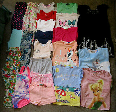 Girls Bundle, 22 items,6-7yrs, Ralph Lauren, Gap, H&M, Next, M&S,Disney,George