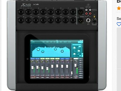 Behringer X18 18-Channel 12-Bus Mixer, iPad