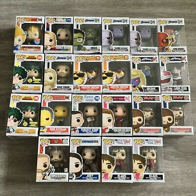 Funko Pop! Damaged Lot of 22 - Exclusives