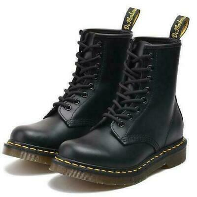Classic Womens Ankle 1460 Airwair NEw Dr Martens Mens Boots Leather Doc 8-Eye
