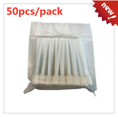 50pcs Foam Cleaning Swabs for Epson / Roland / Mimaki / Mutoh Inkjet Printers 5""