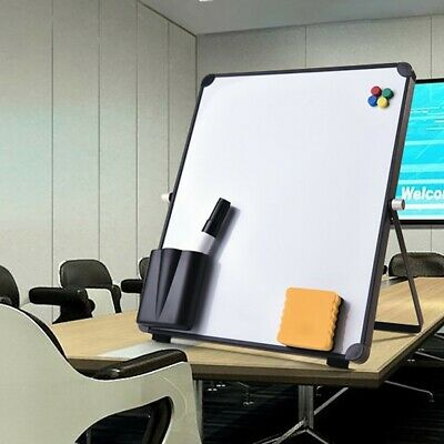 Magnetic Whiteboard Small Large White Board Dry Wipe Notice Office School UK