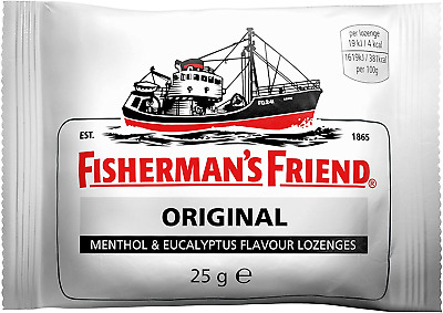 Fishermans Friend Multi Buy 25 g Original Extra Strong Sore Throat Medication -