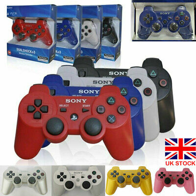 Dualshock Gamepad Joystick Bluetooth Wireless For PlayStation 3 PS3 Controller