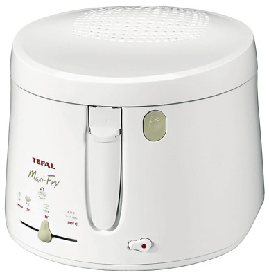 TEFAL Fritteuse FF1000 MAXIFRY Weiss