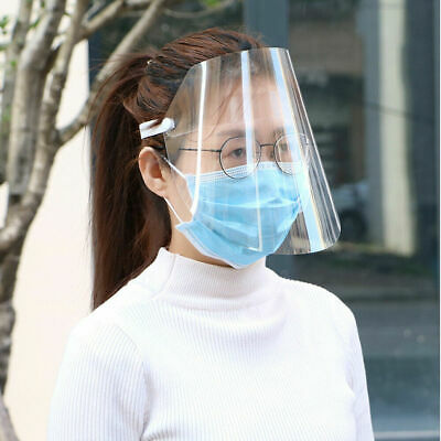 Safety Face Shield With Clear Flip-up Visor Shop Garden Industry Dental Use