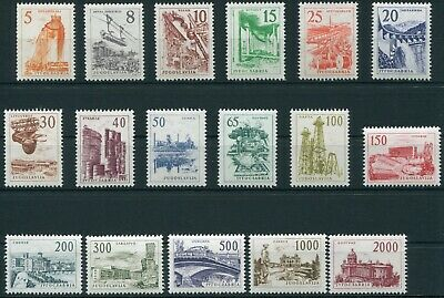 (TV01164)  Jugoslavia 1961/62  Stamps