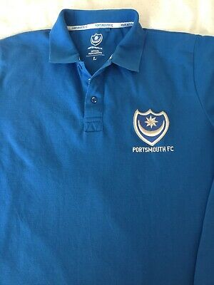 NEW Boy/'s FC Portsmouth POMPEY Crew Neck Junior T Shirt EST.1898 Size L-XL
