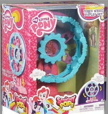 Slight Damage to Packaging My Little Pony Squishy Pops Ferris Wheel Playset