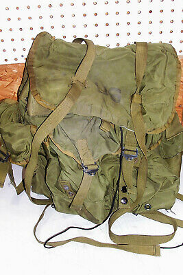 US Army Nylon Combat Field Pack Alice Backpack USGI Hiking Survival Hunting GI