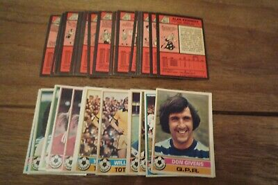 Topps Red Backed Football Cards 1977 nos 201-330 VGC! - Pick The Cards You Need!