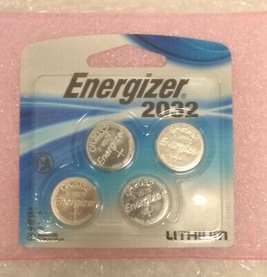 500 (4-Pack x 125) ENERGIZER Batteries CR2032 3V 240mAh Lithium Coin Battery