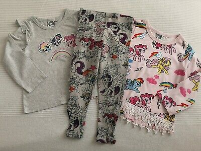 NEXT___MY LITTLE PONY 2x top and leggings set girl age 3-4 yrs VGC