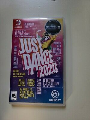 Nintendo Switch Game- Just Dance 2020