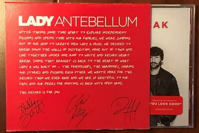 LADY ANTEBELLUM Heart/Break Sealed CD with PROMO ONLY SLIPCOVER