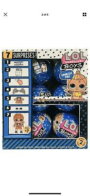 LOL Surprise Boys SERIES 2 In Hand FREE SHIPPING Authentic DOLLS 7 SURPRISES