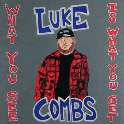"What You See Is What You Get - Luke Combs  (CD) ""SEALED"""