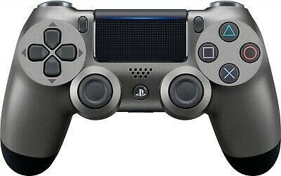 Sony CUH-ZCT2U PS4 DualShock 4 Wireless Controller for PlayStation 4 Steel Black