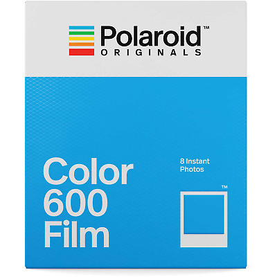 1 x Box Polaroid Originals INSTANT 600 COLOR Film (8 photos)--expiry 30/9/2020