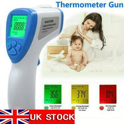Non-Contact Digital Forehead Thermometer for Baby Kids Adults Head Thermomete US