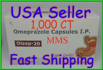 **SHIPPING TODAY** Omeprazole 50 ct Capsules Heartburn Acid Reducer OTC 20mg