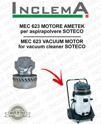 MEC 623 Vacuum Motor Amatek for vacuum cleaner SOTECO