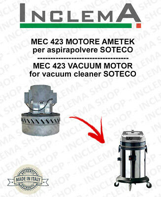 MEC 423 Vacuum Motor Amatek for vacuum cleaner SOTECO