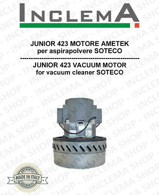 JUNIOR 423 Vacuum Motor Amatek for vacuum cleaner SOTECO