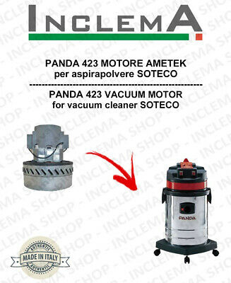 PANDA 423 Vacuum Motor Amatek for vacuum cleaner SOTECO