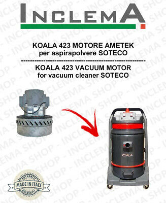 KOALA 423 Vacuum Motor Amatek for vacuum cleaner SOTECO