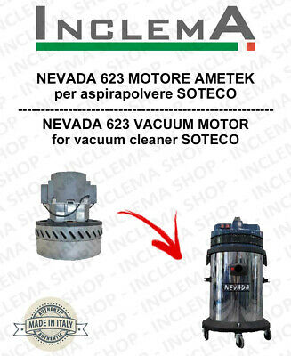 NEVADA 623 Vacuum Motor Amatek  for vacuum cleaner SOTECO
