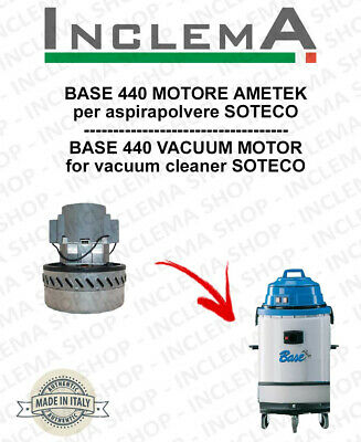 BASE 440 Vacuum Motor Amatek for vacuum cleaner SOTECO