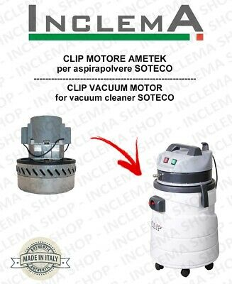 CLIP Vacuum Motor Amatek for vacuum cleaner SOTECO
