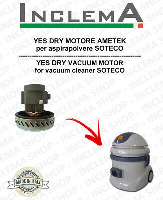 YES DRY Vacuum Motor Amatek for vacuum cleaner SOTECO
