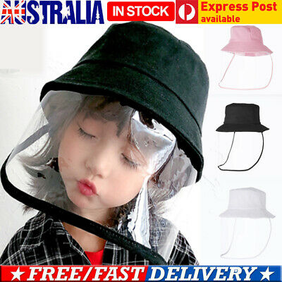 ⭐Unisex Kids Anti-Fog Flu Protective Cap UV Protection Fisherman Hat Face Covers