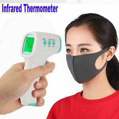 NEW Infrared IR forehead thermometer Contactless baby fever temperature meter CA